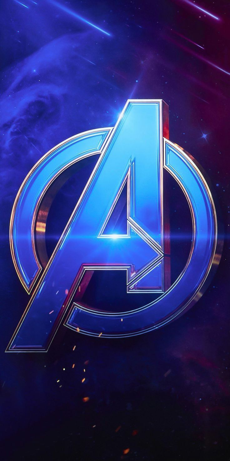 Avengers logo, Avengers wallpapers for iPhone and Android.