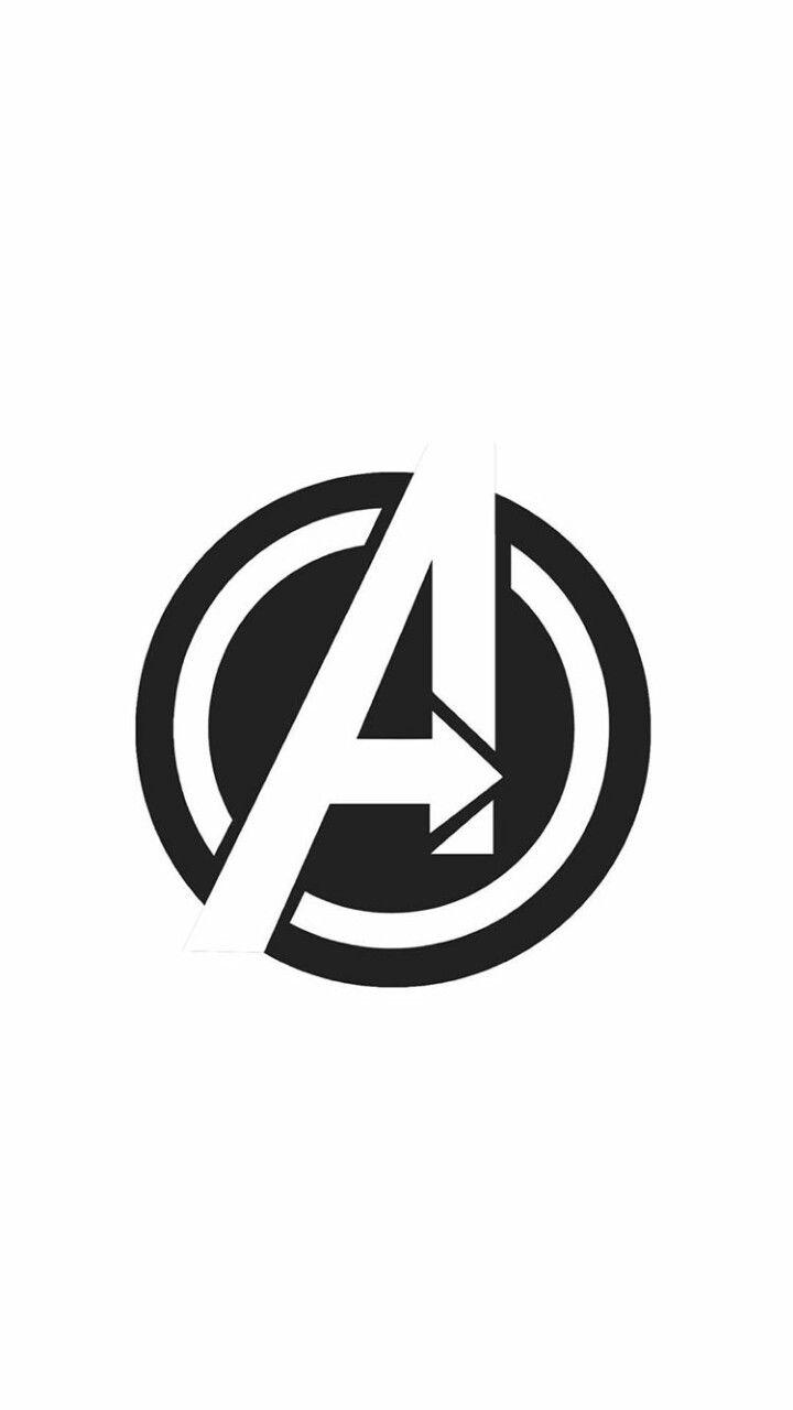 AVENGERS logo wallpaper.
