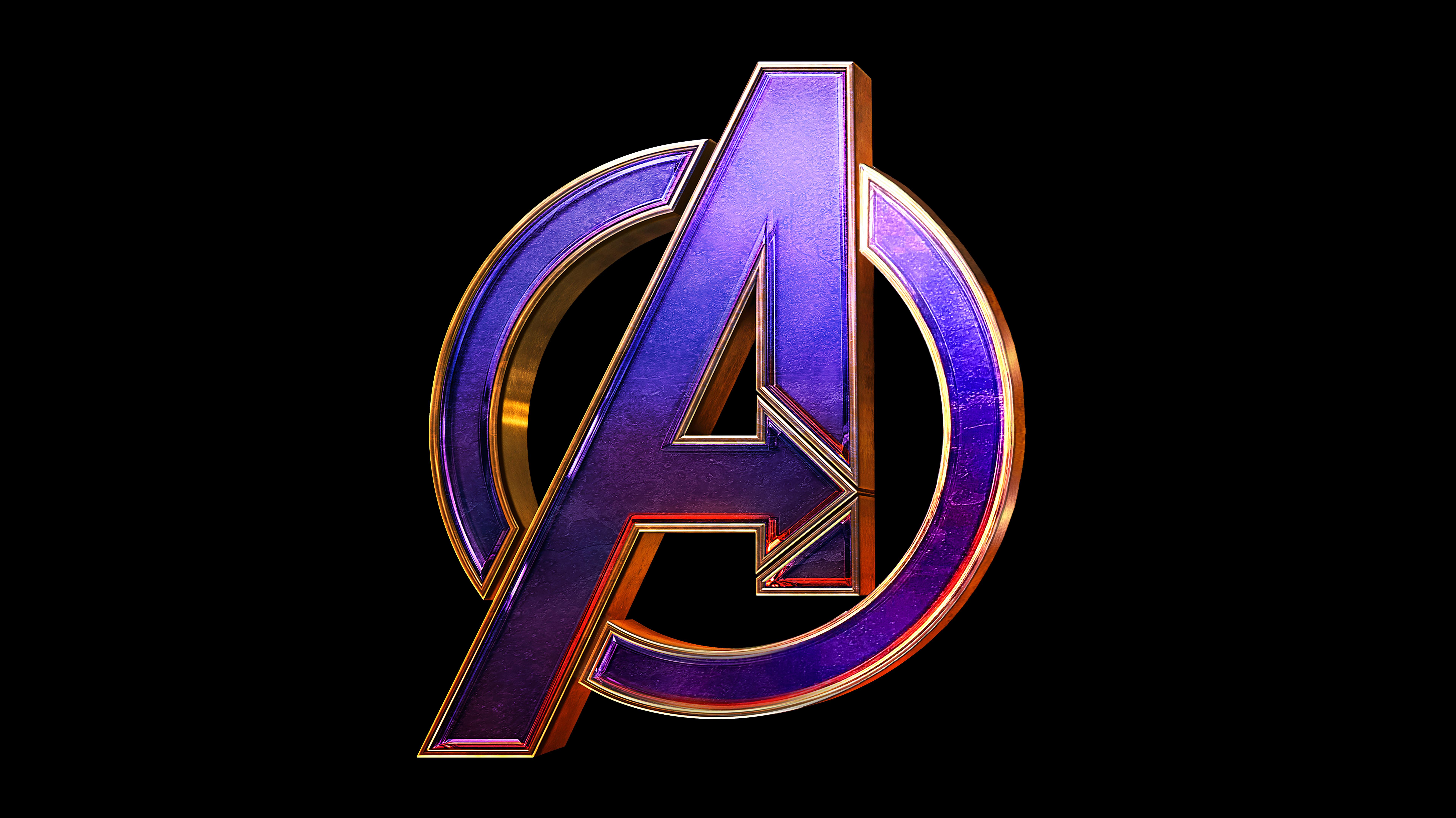 Avengers Endgame Logo Wallpaper 8k Ultra HD ID:3034.