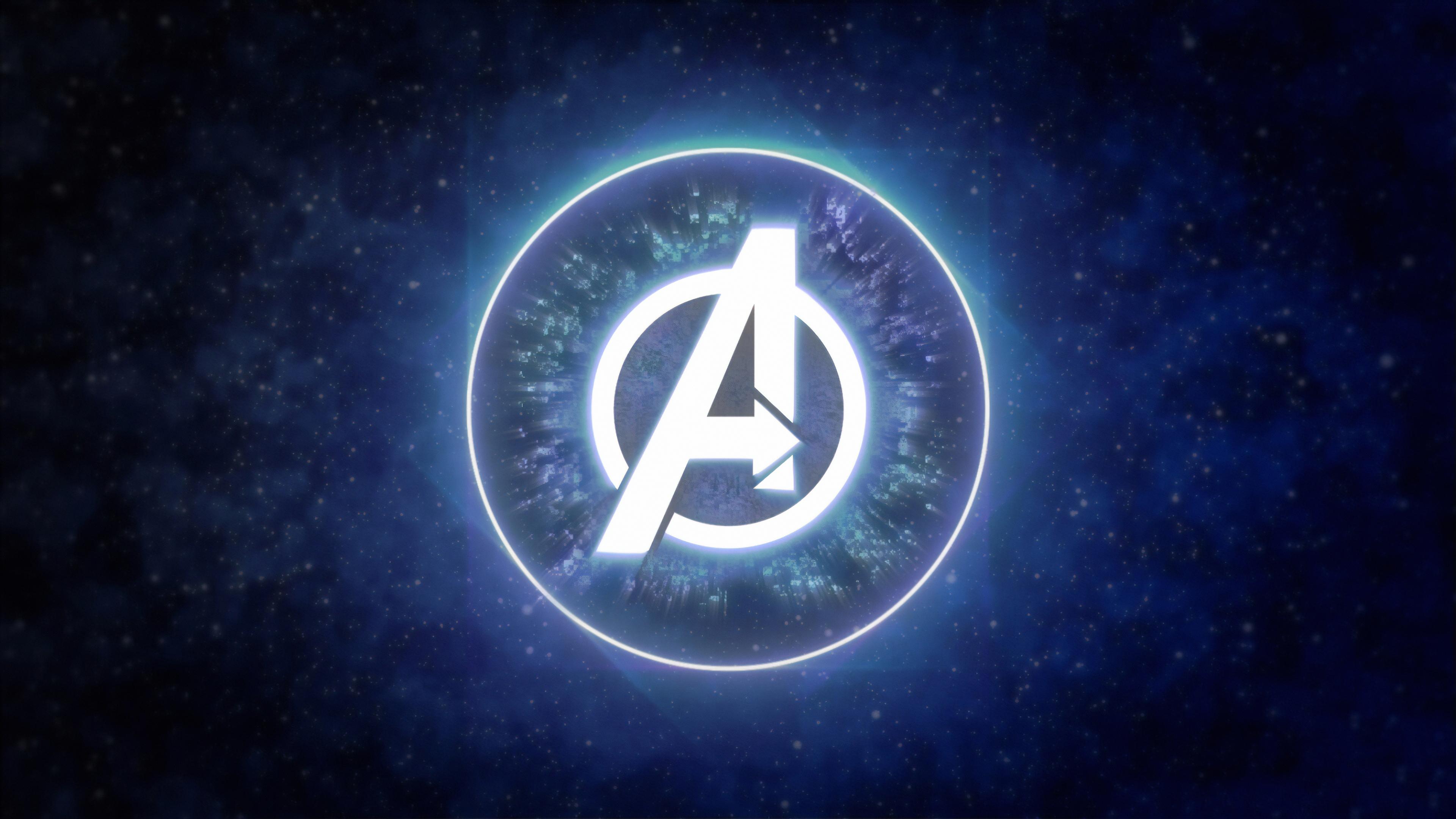 Avengers Logo 4k, HD Superheroes, 4k Wallpapers, Images.