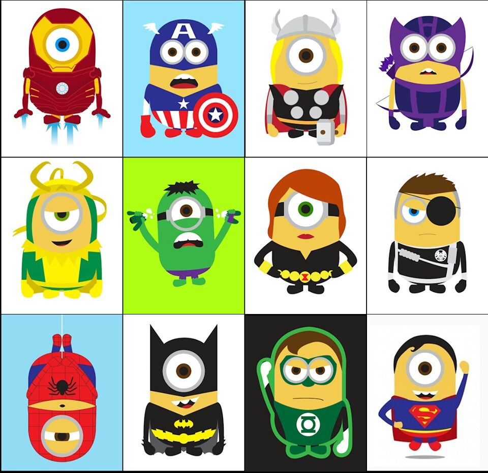 Super minions justice league of minions The avenging.