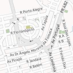 Você está na Av. Rio Branco, Umuarama PR Trânsito e Mapa.