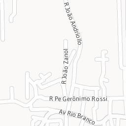 CEP Avenida Rio Branco 95060.