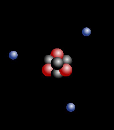Atomic mass.