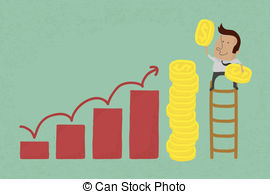 Salary download free clipart with a transparent background.