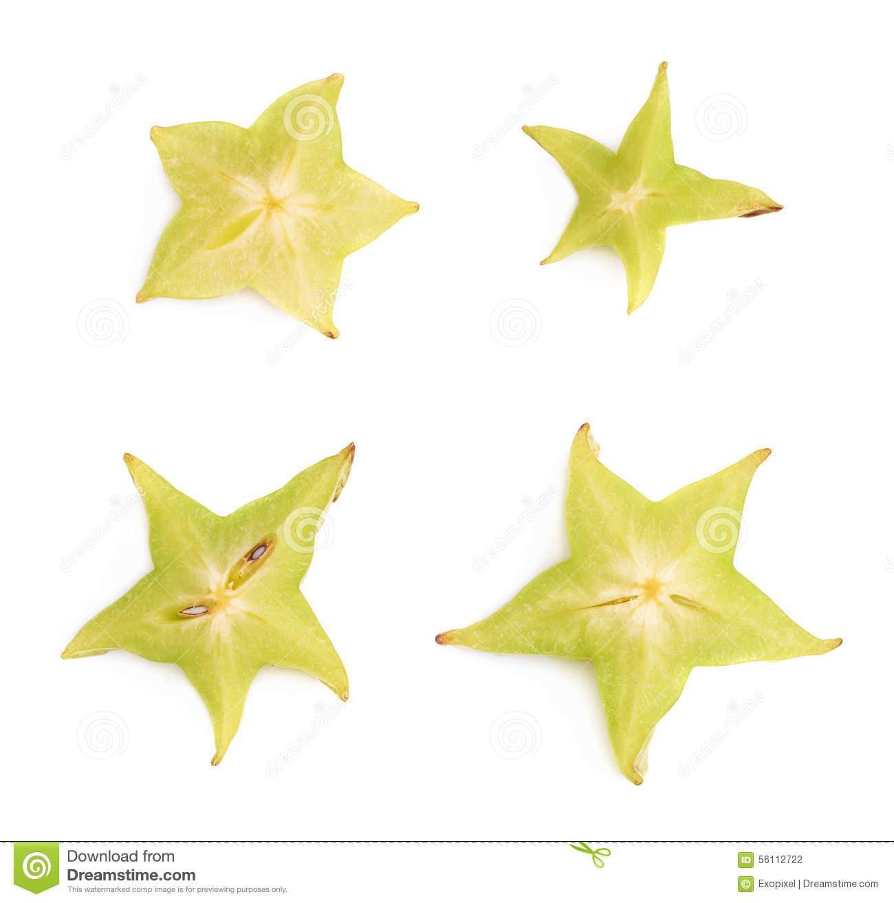 Averrhoa Carambola Starfruit Cross.