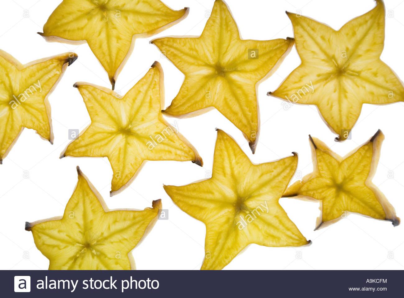 Starfruit, Carambola Fruit, Bilimbi, Belimbing, Chinese Star Fruit.