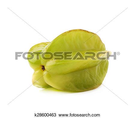 Stock Photo of Averrhoa carambola starfruit isolated k28600463.