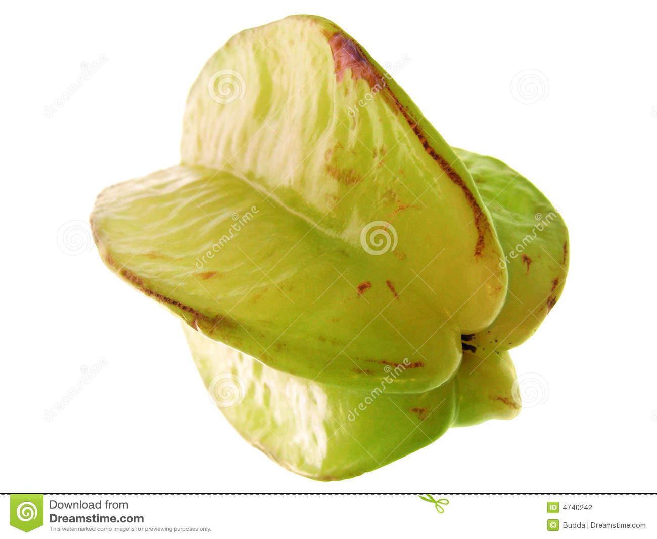 Averrhoa Carambola. Exotic Fruit. Stock Photography.