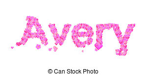 Avery Clipart and Stock Illustrations. 7 Avery vector EPS.