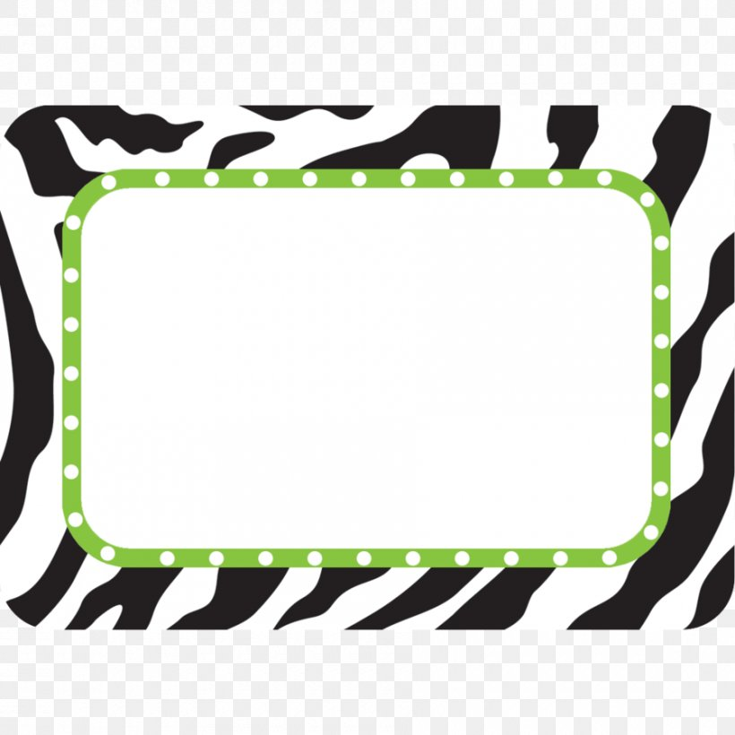 Name Tag Label Sticker Animal Print Name Plates & Tags, PNG.