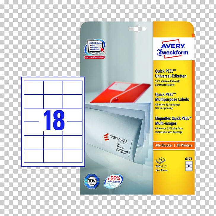 Paper Label Avery Dennison Office Supplies Avery Zweckform.