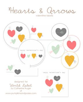 Library of avery labels clip royalty free library hearts png.