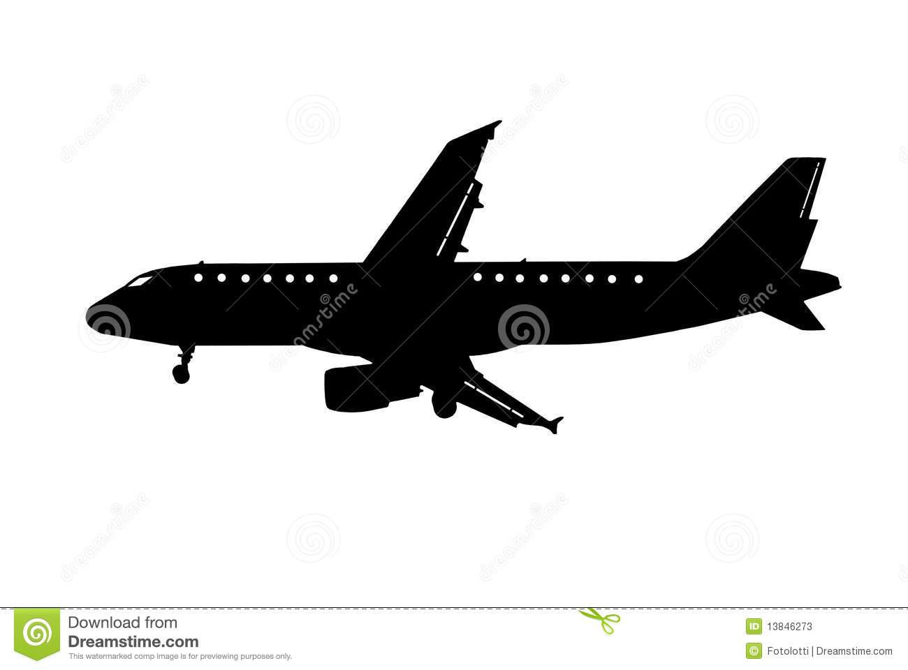 Clipart aviao.