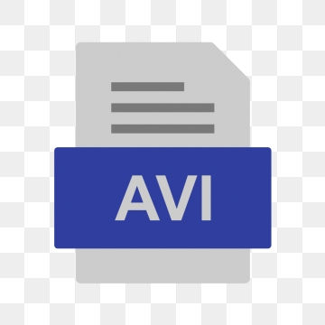 AVI File Document Icon, Avi, Document, File PNG and Vector with.
