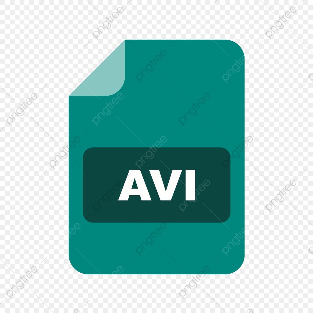 Avi Vector Icon, Document Icon, File Icon, File Extension Icon PNG.