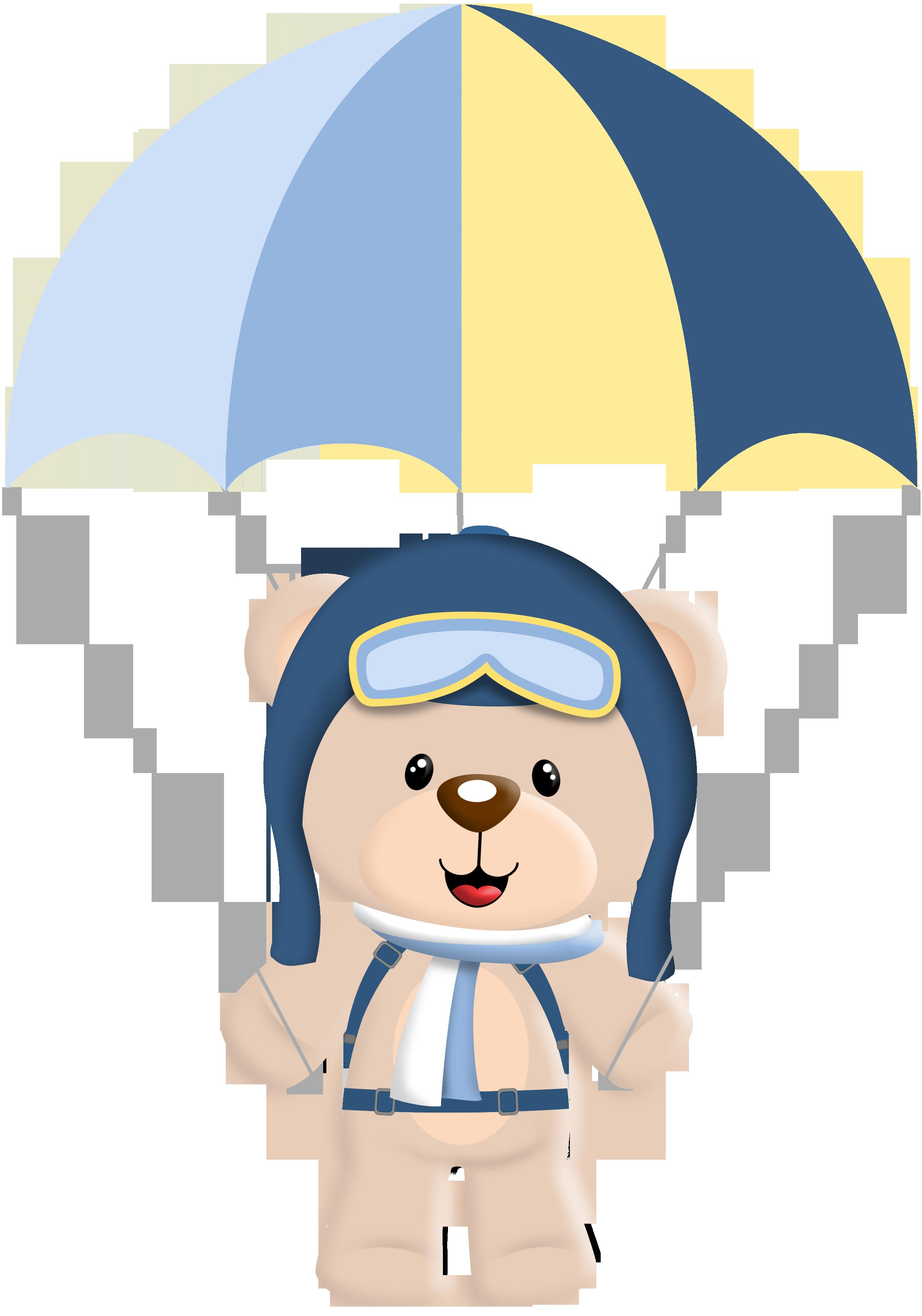 Urso aviador png 2 » PNG Image.