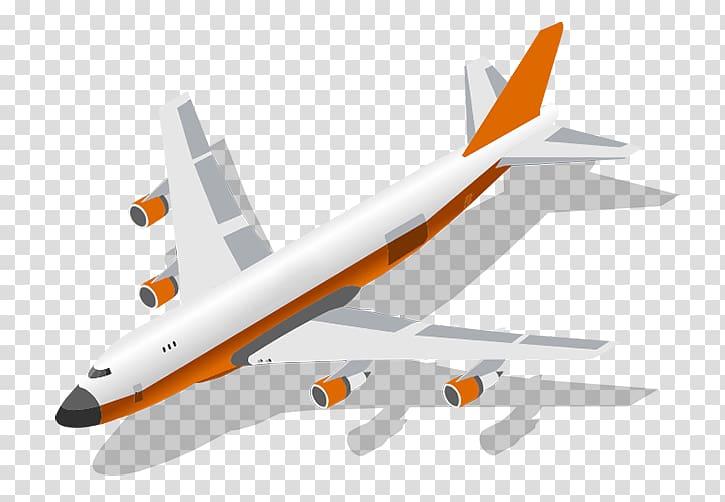 Logistics Cargo Freight transport FedEx, aviao transparent.