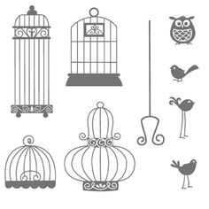 Pin by Sharon Stucky on Birdcage CARD Ideas.