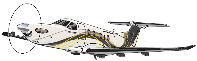 General aviation clipart.
