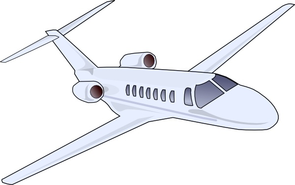 Aircraft clip art Free vector in Open office drawing svg ( .svg.