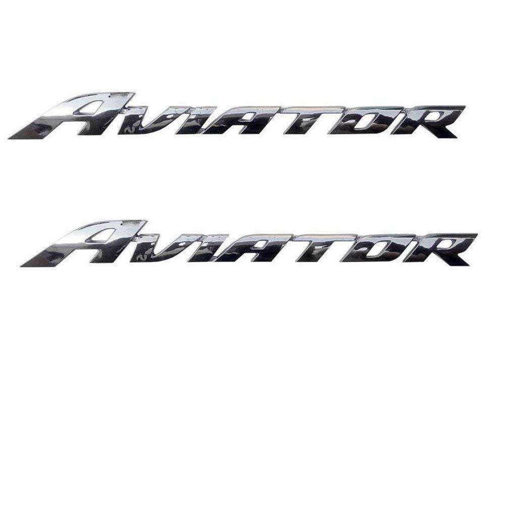 HAP Bike Emblem Badge Decal 3D Tank Logo Aviator Sticker for Honda  Aviator(Both Side of Petrol Tank).