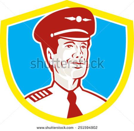 Pilot Front Stock Vectors, Images & Vector Art.