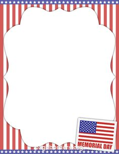 Memorial Day Clip Art Flag Pictures, Images, Borders 2013.