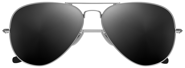 Aviator Sunglasses PNG Clip Art Image.