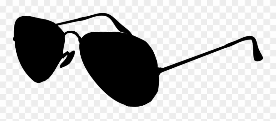 Black And White Clip Art Sunglasses.