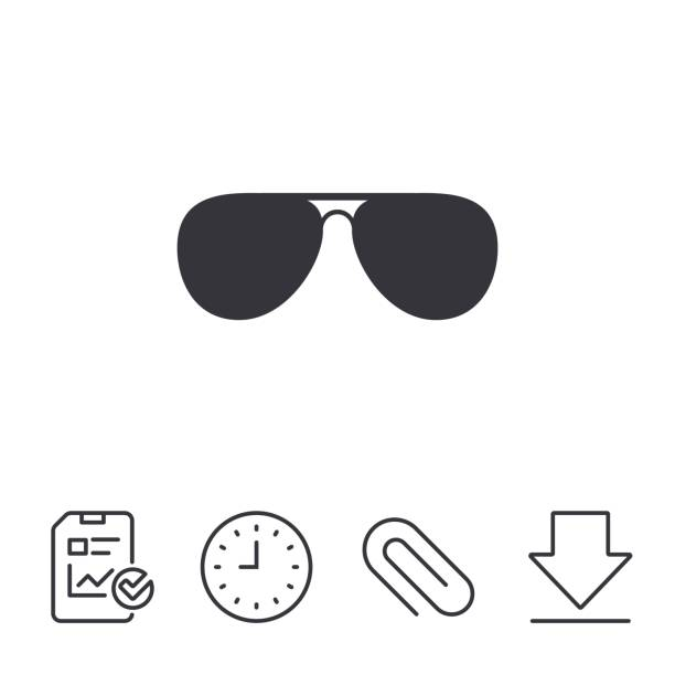 Best Aviator Sunglasses Illustrations, Royalty.