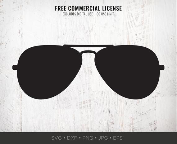 Aviator Sunglasses SVG Aviators SVG Sunglasses Silhouette Shape Png Cut  File for Cricut Sunglasses Clipart Download Dxf Jpg for Silhouette.