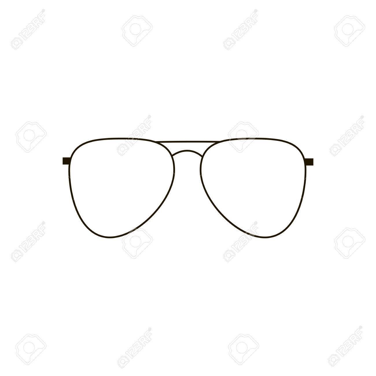 Aviator Glasses Icon » Clipart Portal.