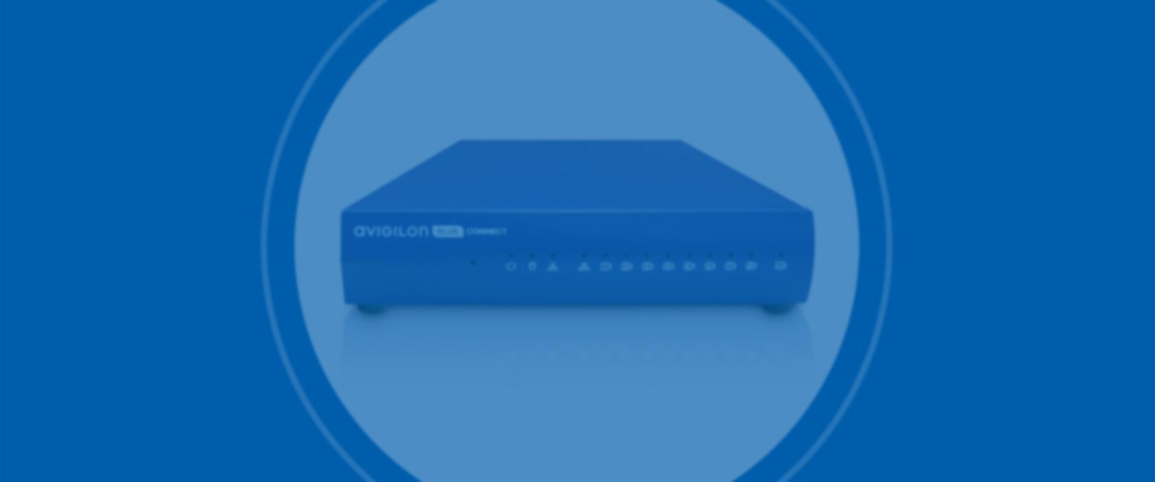 Avigilon Blue » Avigilon Blue Connect Device.