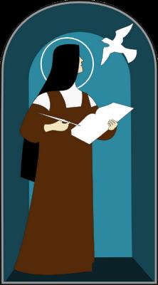 Saint teresa clipart.