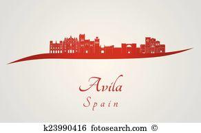 Avila Clip Art Vector Graphics. 11 avila EPS clipart vector and.