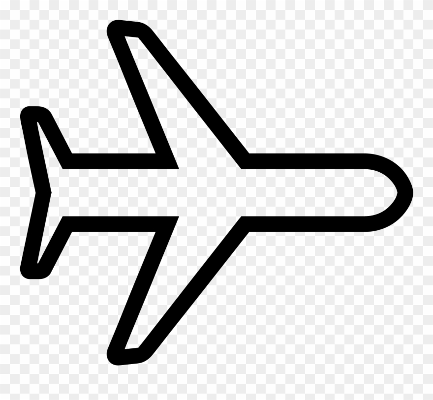 Svg Free Library Avion Vector.