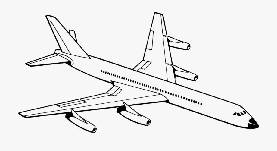 Drawn Aircraft Drawing.