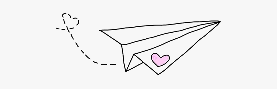 Painted Paper Plane Hand Png Download Free Clipart.