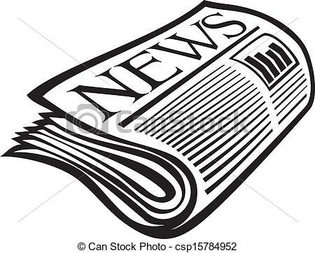 Newspaper Clip Art Images.