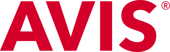 Avis Car Rental Logo transparent PNG.