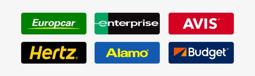 Car Rental Suppliers Logos.