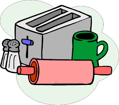 Clip Art Kitchen Items Clipart.
