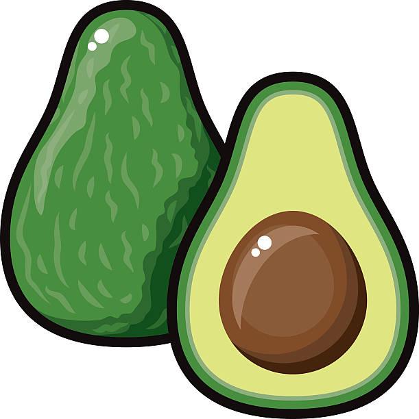 Clipart avocado 5 » Clipart Station.