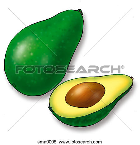 Avocado Clipart and Stock Illustrations. 404 avocado vector EPS.