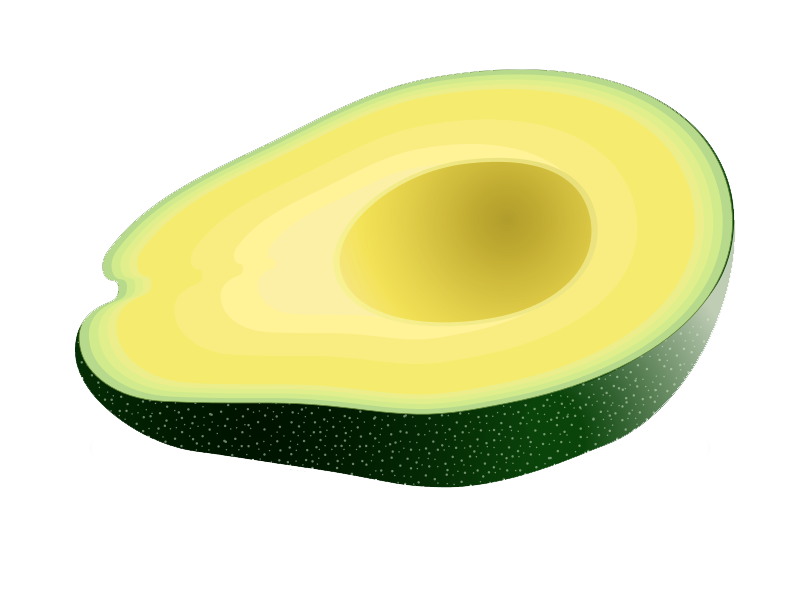 Free to Use & Public Domain Avocado Clip Art.