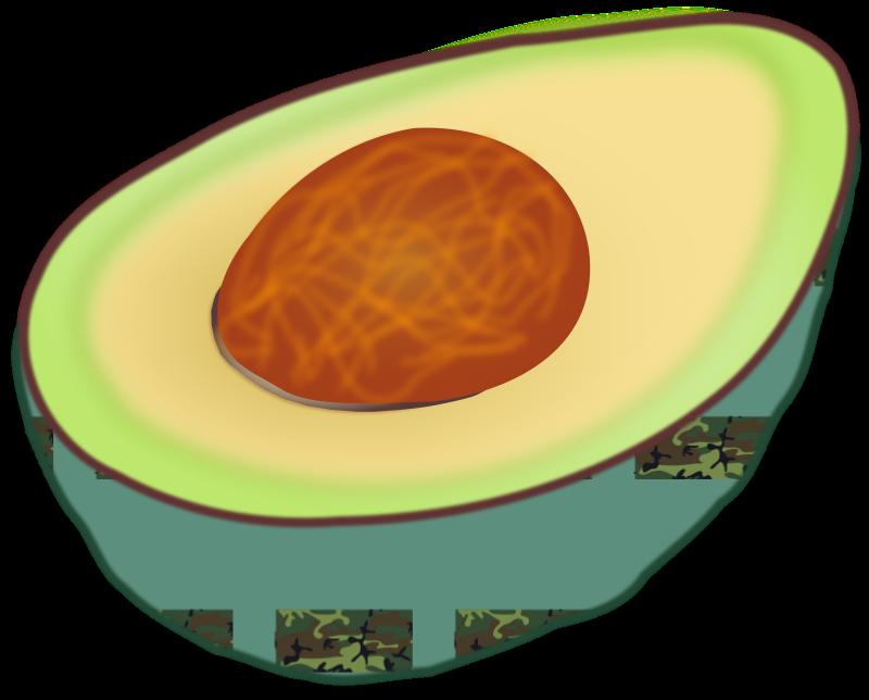 Free Clipart: Avocado.