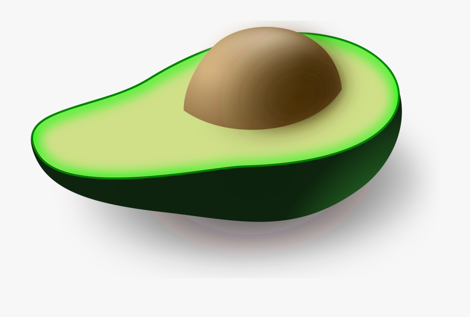 Avocado Clipart Avocado Seed.