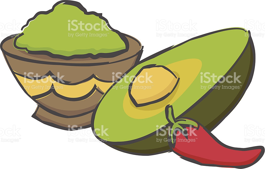Gucamole stock vector art 157066958.