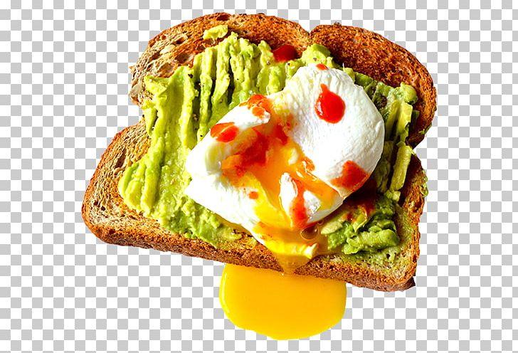 Avocado Toast Breakfast Sandwich Vegetarian Cuisine PNG.